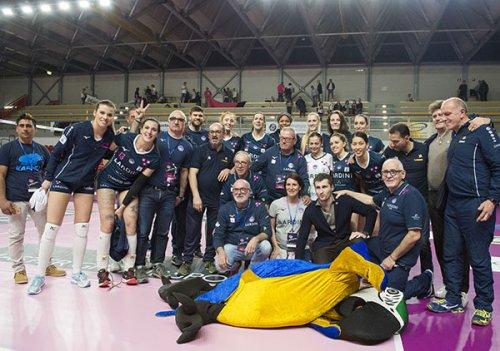 Lardini Filottrano – Il bisonte Firenze 1-3