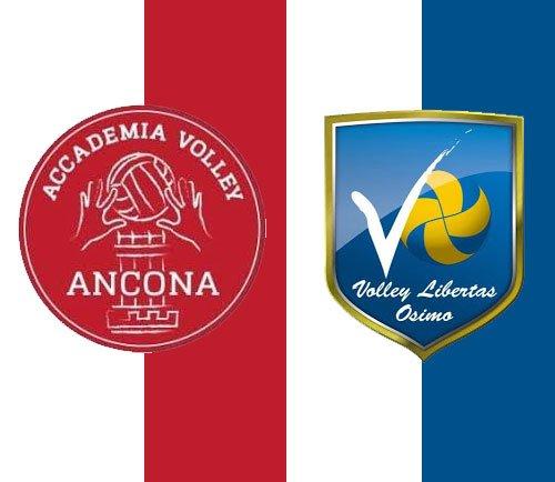 Bontempi Netoip Ancona - La Nef Osimo 3-1 (25-20; 25-23; 21-25; 25-20)