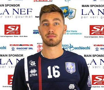 Le prime parole di Lorenzo Silvestrelli con la maglia de la Nef volley Libertas Osimo