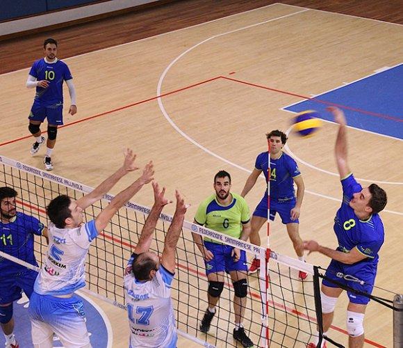 Geetit Bologna vs Titan Services 3 a 0 (15, 21, 20)