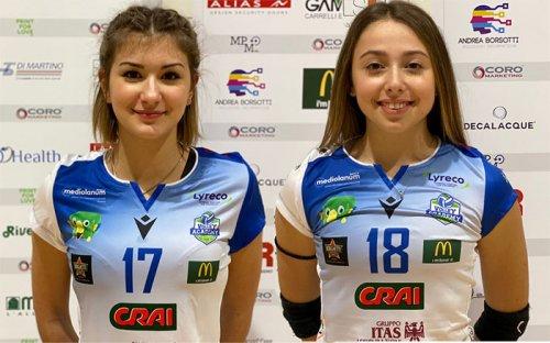 Luna Cicola e Maryelen Corradi tra le migliori 7 giocatrici delle finali nazionali Under 17