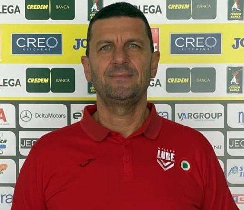 Romano Giannini alla Cucine Lube come secondo allenatore