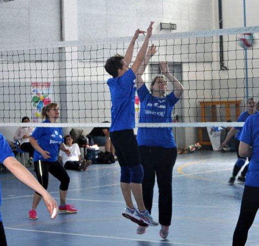 Mamanet-mania, il nuovo sport per le donne si presenta a Forlimpopoli