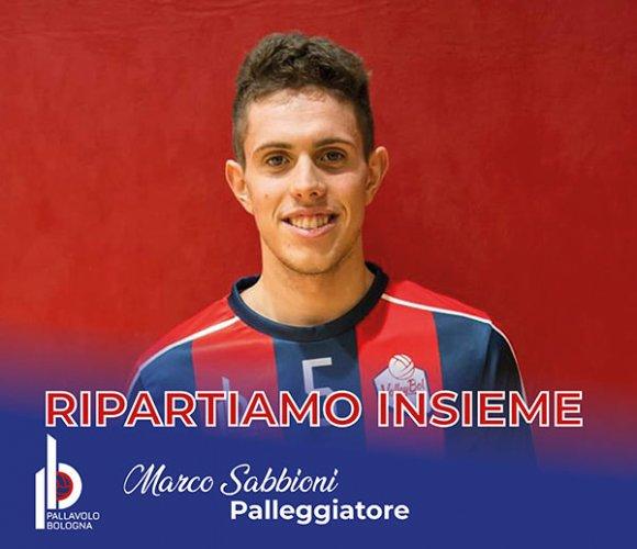 Marco Sabbioni confermato alla GEETIT Pallavolo Bologna