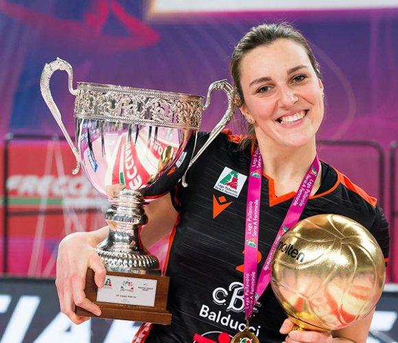 """CBF Balducci HR Macerata  - Melissa Martinelli: """"Facciamoci trovare pronte"""""""