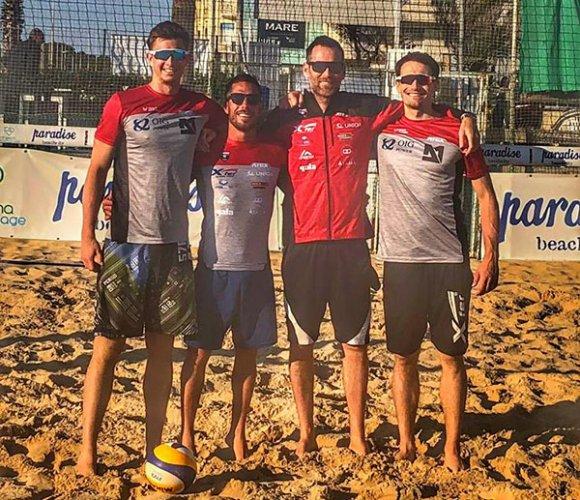 Matteo Galli entra nello staff della nazionale ceca di beach volley
