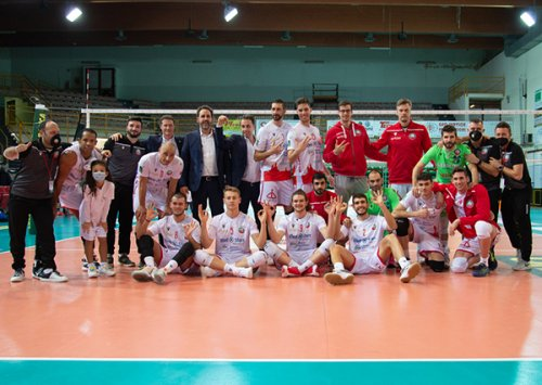 Med store Macerata vs Volley team San Donà di Piave 3-0