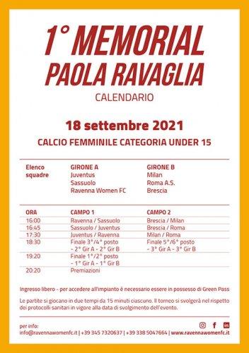 A Mezzano un mini torneo in memoria di Paola Ravaglia