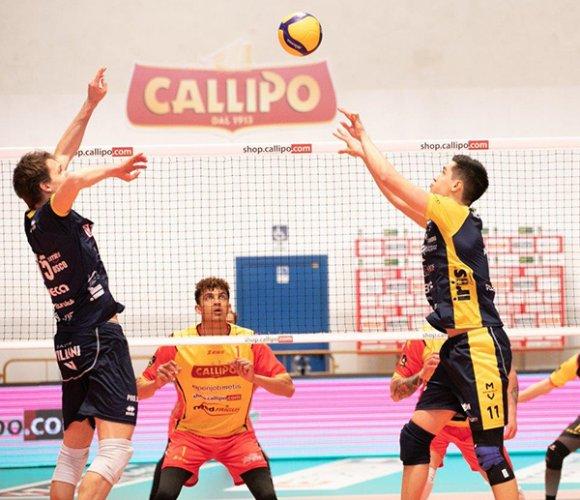Tonno Callipo Calabria Vibo Valentia - Leo Shoes Modena 0-3 (17-25, 20-25, 25-27)