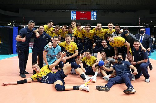Una Modena sontuosa vince 3-0 con Perugia l'andata dei quarti di Champions