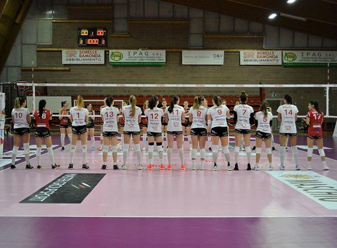 Sorelle Ramonda Ipag Montecchio - CBF Balducci HR Macerata 0-3