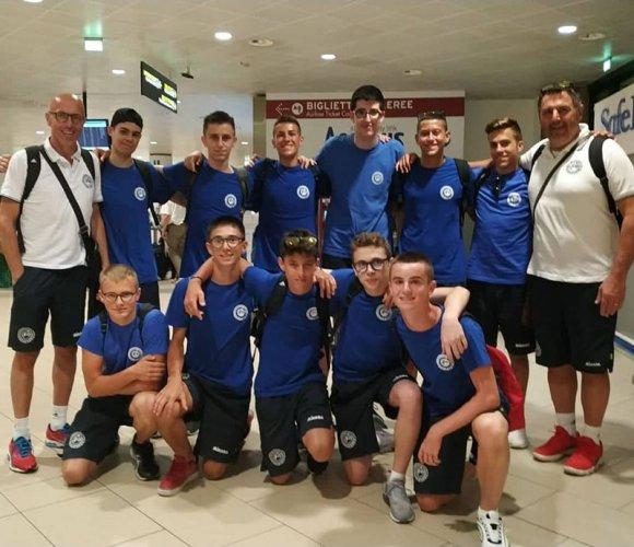 La nazionale maschile sammarinese under 16 vola in Portogallo