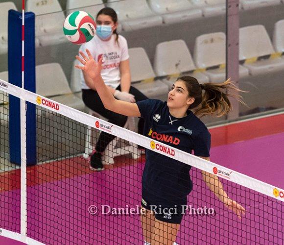 CS OLIMPIA TEODORA – Nicole Piomboni convocata per lo stage della nazionale giovanile