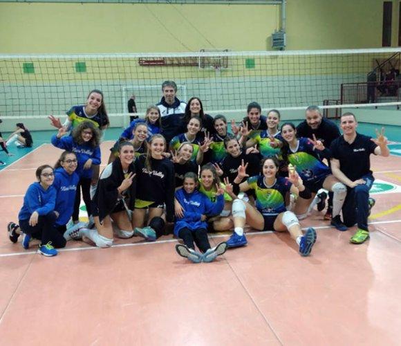 Nure Volley-Tomolpack Marudo 3-0 (25-18, 25-14, 25-21)