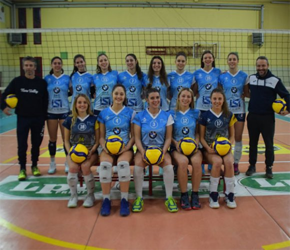 Nure Volley-Stadium Mirandola 0-3 (12-25, 22-25, 22-25)
