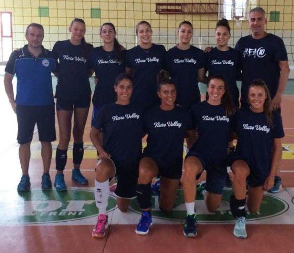 Primo allenamento stagionale per la rinnovata Nure Volley