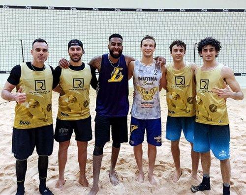 Beach Volley, spettacolo per il 1° compleanno del PalaBvu