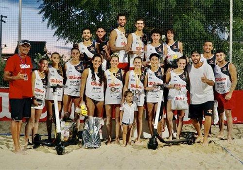 Beach Volley, le sorelle Ravaioli fi Forlì trionfano a Cesenatico