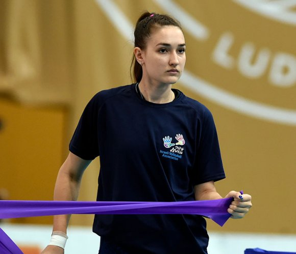 HR Volley Macerata tessera l'opposta israeliana Polina Malik.