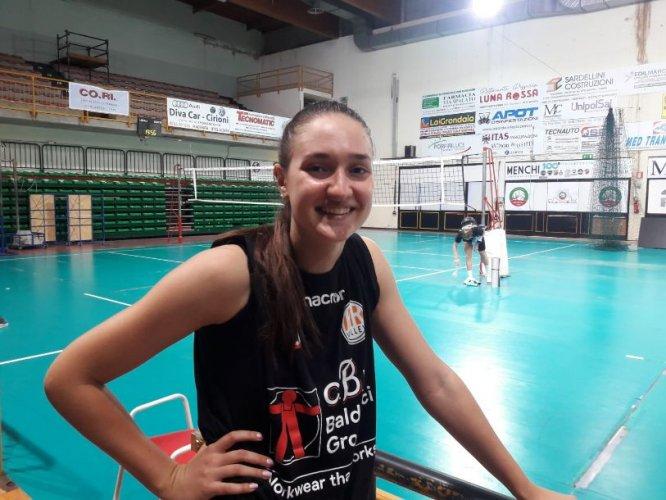 """CBF Balducci HR Volley  Macerata  - Polina Malik: """"Amo tutto di Macerata!"""""""