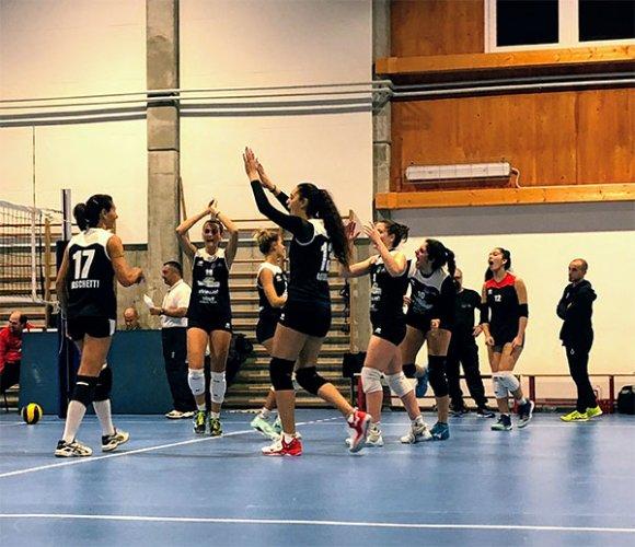 1a div. Femminile - Riccione Volley - Idea Volley Bellaria 2-3