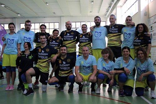 Scuola di pallavolo fermana tra le big d'italia