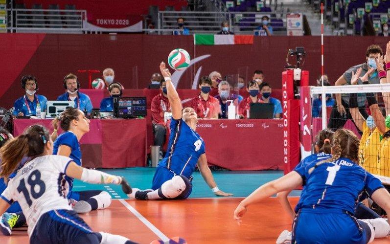 Roberta Pedrelli ai Campionati Europei di Sitting Volley