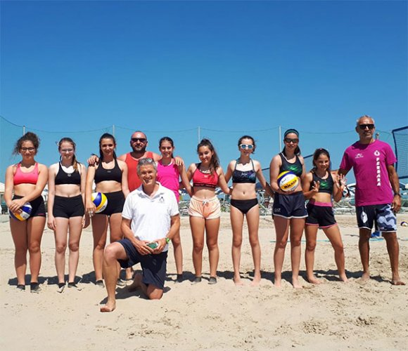Scatta dal Fantini Club di Cervia la stagione del beach volley ravennate