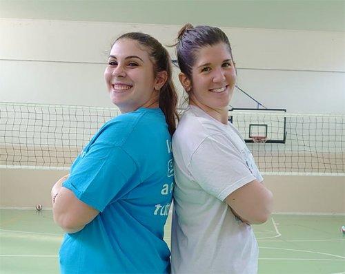 Elisa Bendanti e Sonia Zardi pronte per l'ottenimeto di nuove qualifiche come allenatrici.