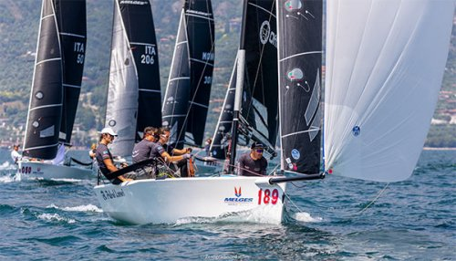 Melges 20 World League -  Kindako sulla linea di partenza del secondo evento del 2020