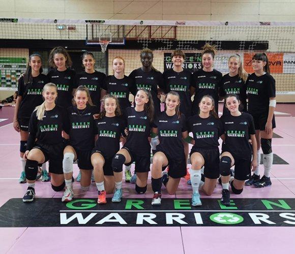 Green Warriors: La Serie A2 ospita San Giovanni per un test amichevole