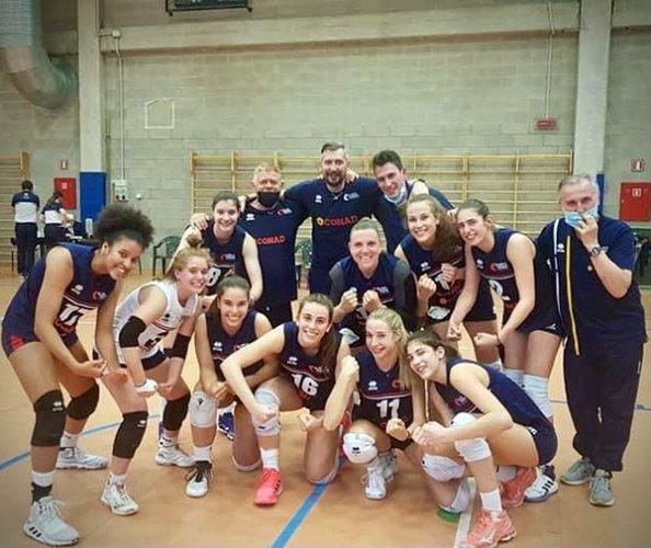 Serie B2F - Arbor Reggio Emilia vs Conad Olimpia Teodora Ravenna 0-3