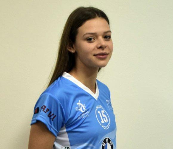 La giovane centrale Elisa Sgobbi confermata alla Pallavolo Sangiorgio