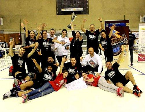 Sitting volley, il Volley Club Cesena trionfa a Parma