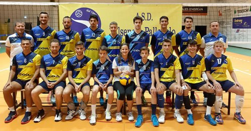 Alsenese - Volley tricolore 3-0 (25-18, 25-19, 25-15)