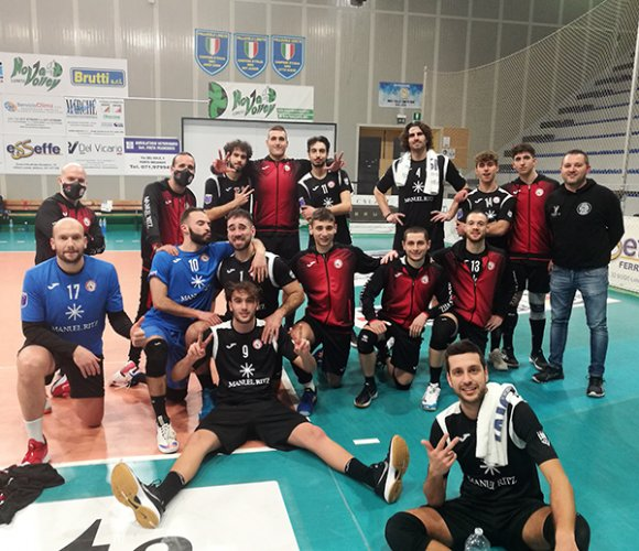 Sampress Nova Loreto AN – Paoloni Macerata 2-3