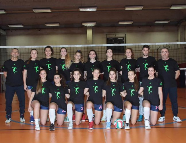 San Giovanni in Persiceto vs Rubierese Gramsci pool volley RE 3-1