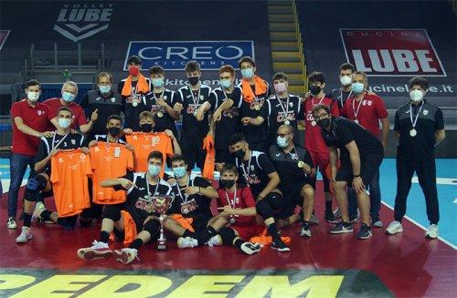 Academy Volley Lube sul trono regionale U17
