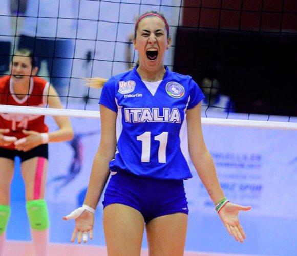 Medaglia al valore atletico  per Vanessa Caboni