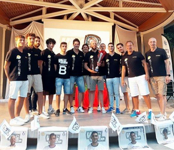 Il Volley Club Cesena ha festeggiato la promozione