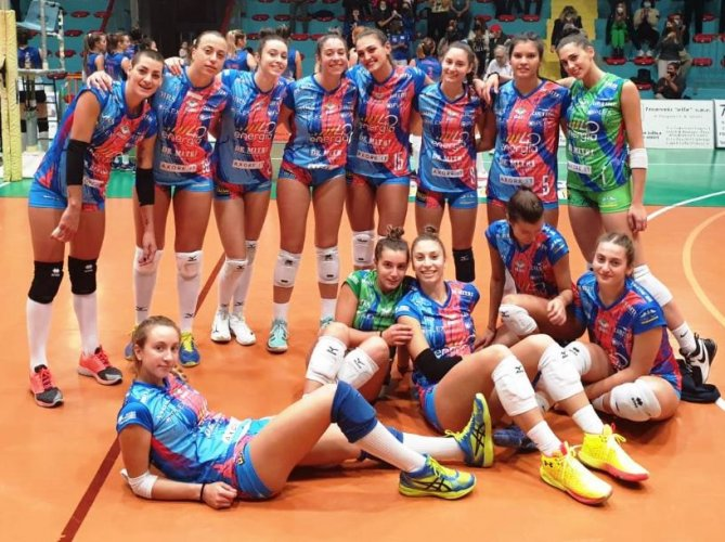 Pre - gara : Energia 4.0 - De Mitri Volley Angels Project - Toscana Garden Nottolini Capannori