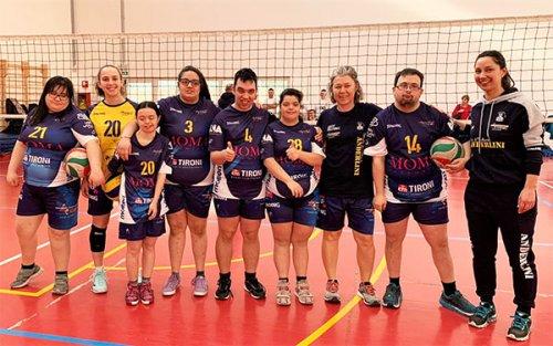 Volley speciale: in campo i ragazzi di Sportinsieme della S. di P. Serramazzoni