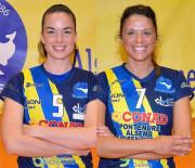 La Pallavolo Alsenese saluta Lorena Amasanti e Caterina Fanzini