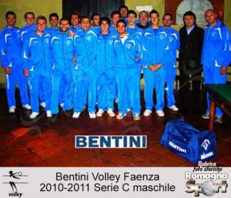 FOTO STORICHE - Bentini Volley Faenza 2010-11