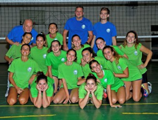 AICS Volley Forlì - Olimpia Russi volley 2 - 3 ((23-25; 25-22; 18-25; 25-17; 12-15)