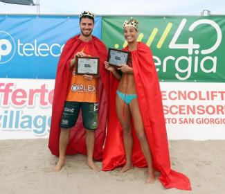 King & Queen beach volley tour 2021