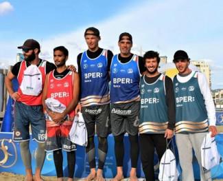 Beach volley, Gianluca Casadei trionfa a Viareggio
