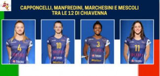 Capponcelli, Manfredini, Marchesini e Mescoli tra le 12 diI Chiavenna