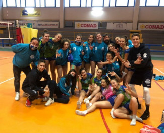 Under 19 - Conad Alsenese vs ITAS Academy PC  1-3 (15-25; 10-25; 25-21; 4-25)