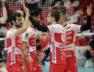 Gas Sales Bluenergy Piacenza – Allianz Milano 3-2